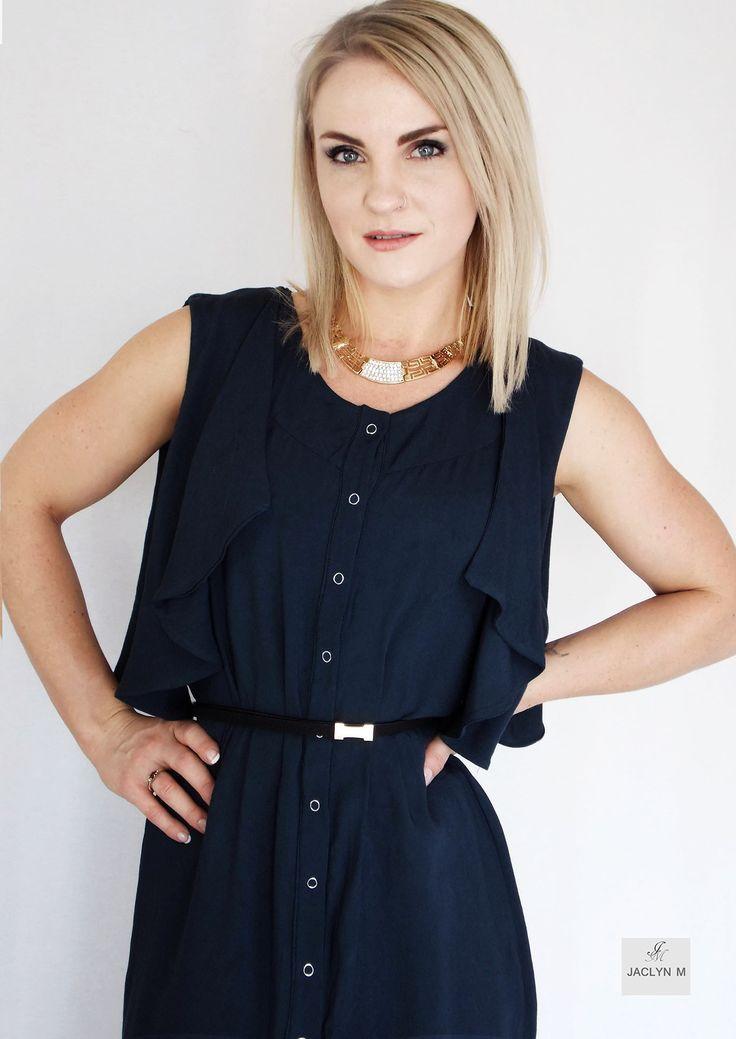 JACLYN M- Ophelia drape shirt dress