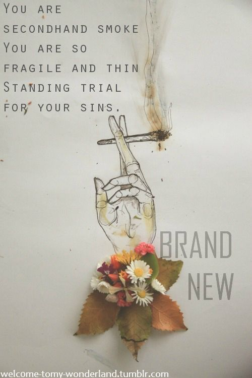 The boy who blocked his own shot- Brand New