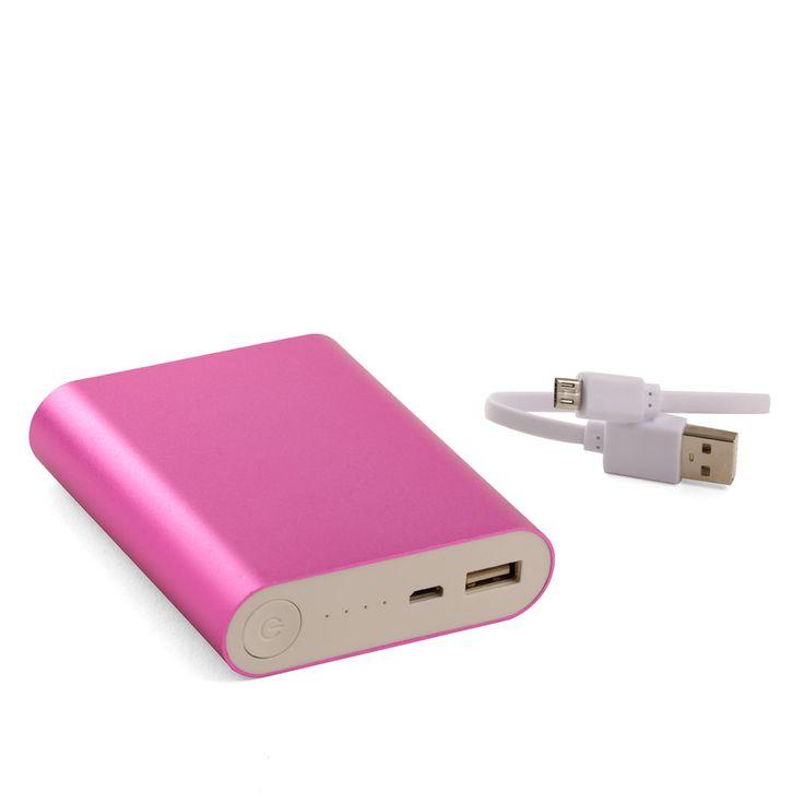 Fuente alimentación USB rosa.  Fotografía Kinoki studio