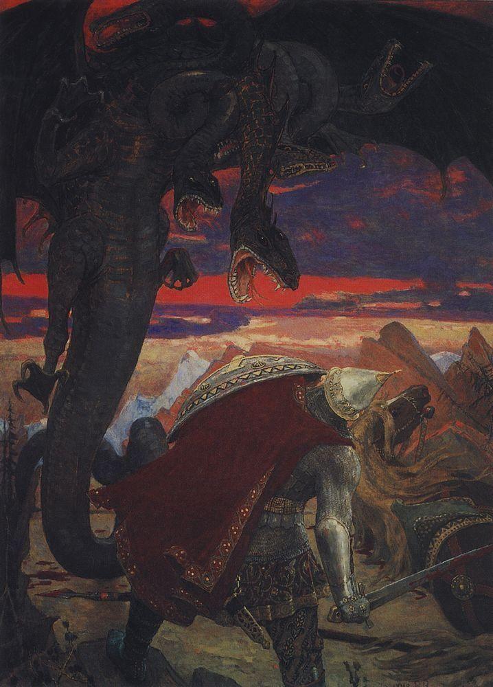 Битва Добрыни Никитича и Змея Горыныча