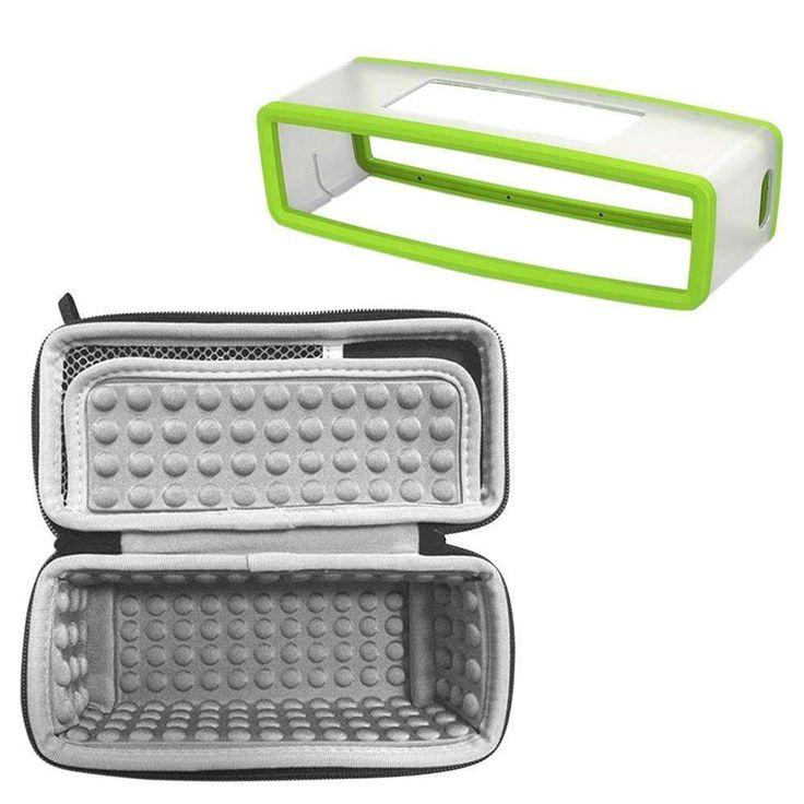 Gosear 2Pcs/Set Bluetooth Wireless Speaker Travel Silicone Protector Case Kit For Bose Soundlink Mini 1 2 Fundas Coque Caso Capa