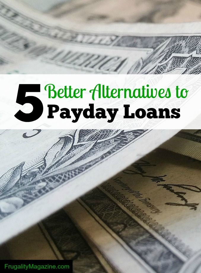 5 better alternatives to payday loans. If you're struggling financially and need to borrow money then find out the best solution for your needs. #debt