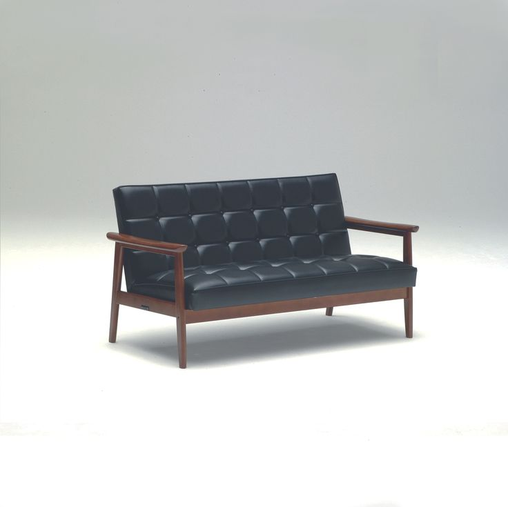k chair two seater standard black