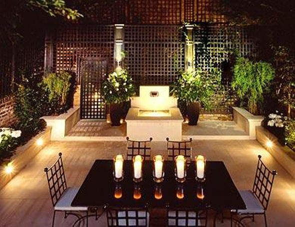 pictures of night time beautiful outdoor table settings  download, Patio