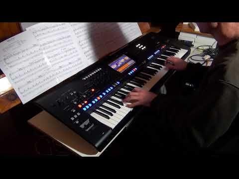 Take Five  Paul Desmond  In live on Yamaha Genos - YouTube