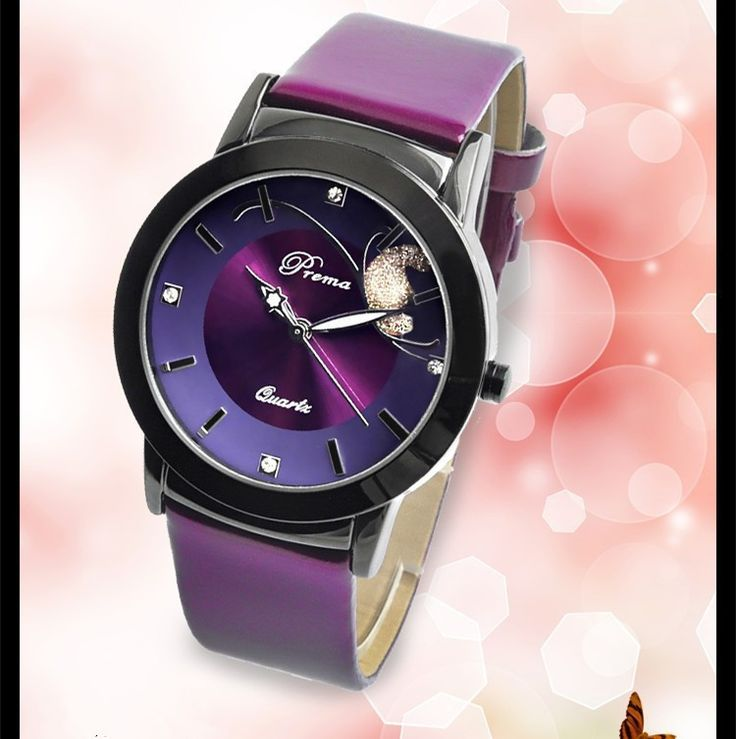 PREMA - Luxury watch for women with leather strap. – The Cynical Clique