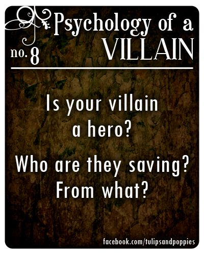 Writing Villains: 9 Evil Examples of the Villain Archetype