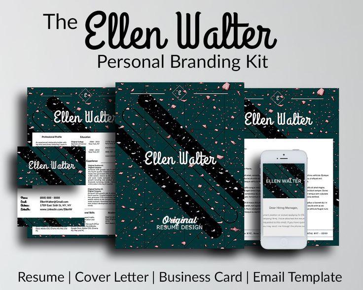 job seeker personal branding kit resume  cover letter