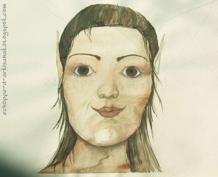 Aaquarelle Portrait1 by echoppedartisanat.deviantart.com on @deviantART