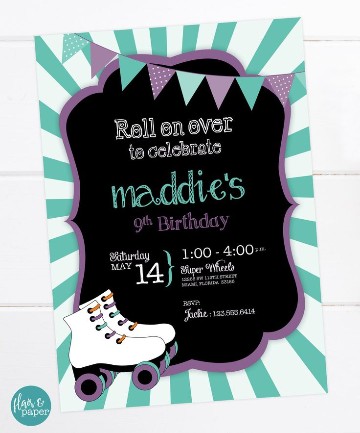 72 best Birthday Invitations images on Pinterest | Anniversary ...