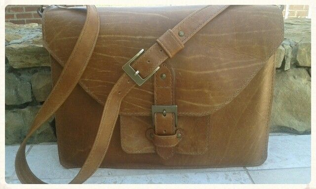 Handmade leather laptop bag from Ray's Leather. raysleatherwork@gmail.com