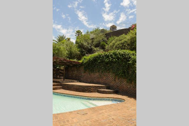 Garden view from Pam's Place, Krugersdorpt, SA