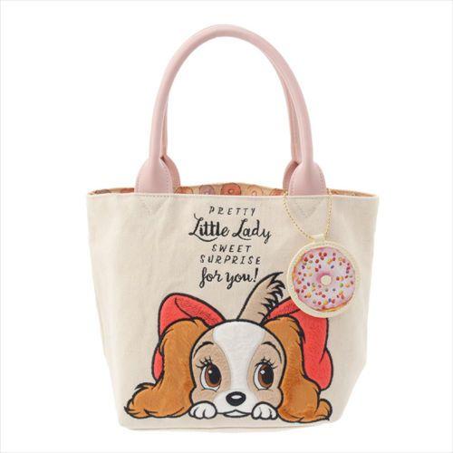 465e94a92 Disney-Store-JAPAN-Lady-amp-The-Tramp-Tote-Bag -New-Year-Of-Dog-2018-WAN-WAN-WAN