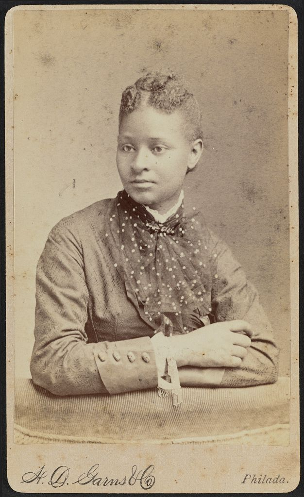 [Portrait of Sidney Taliaferro] / H.D. Garns & Co., Philada. Emily Howland photograph album. Collection of the Library of Congress and the National Museum of African American History & Culture.