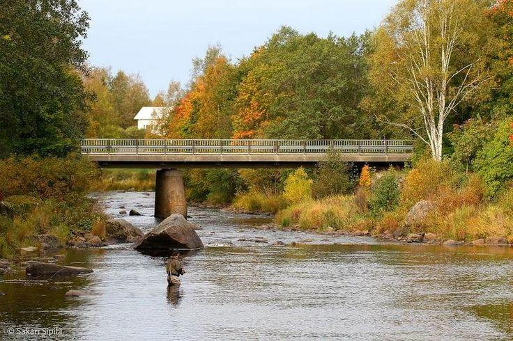 Ruskan tuloa. Merikarvia, Finland. Photo by Sakari Sipilä