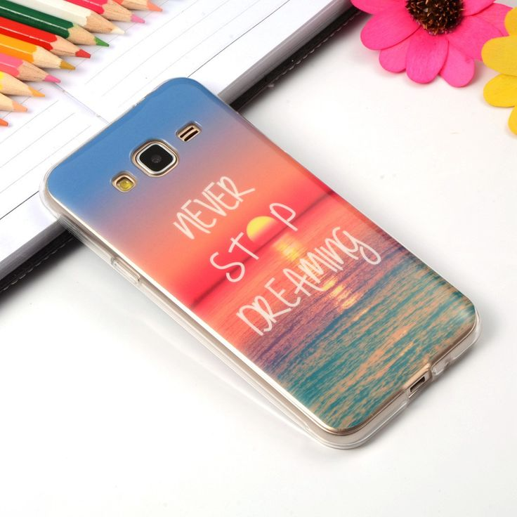 Pattern Rubber TPU Soft Silicone Case For Samsung Galaxy J3 J300 J3000 Back Skin Cover Phone Protective ShockProof Bag