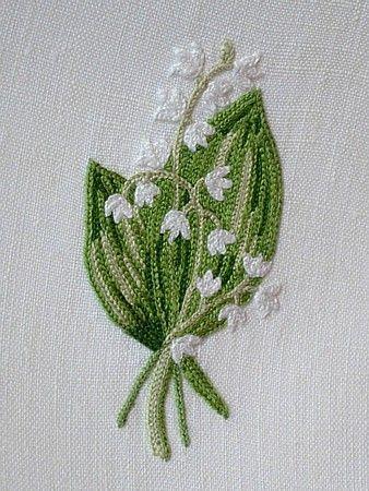 Em's Heart Antique Linens -Antique Porthault Embroidered Towels