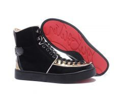 Best Cheap Christian Louboutin Alfie Flat High Top Men's Sneakers Black Gold CODE: Christian Louboutin 2069 List price: $995.00   Price: $198.00 You save: $797.00 (80%) http://www.bestpricechristianlouboutin.com/best-cheap-christian-louboutin-alfie-flat-high-top-mens-sneakers-black-gold.html