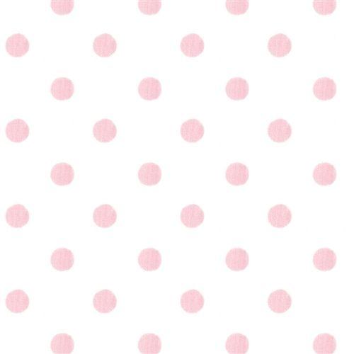 White And Pink Polka Dot Fabric By The Yard Pink Polka