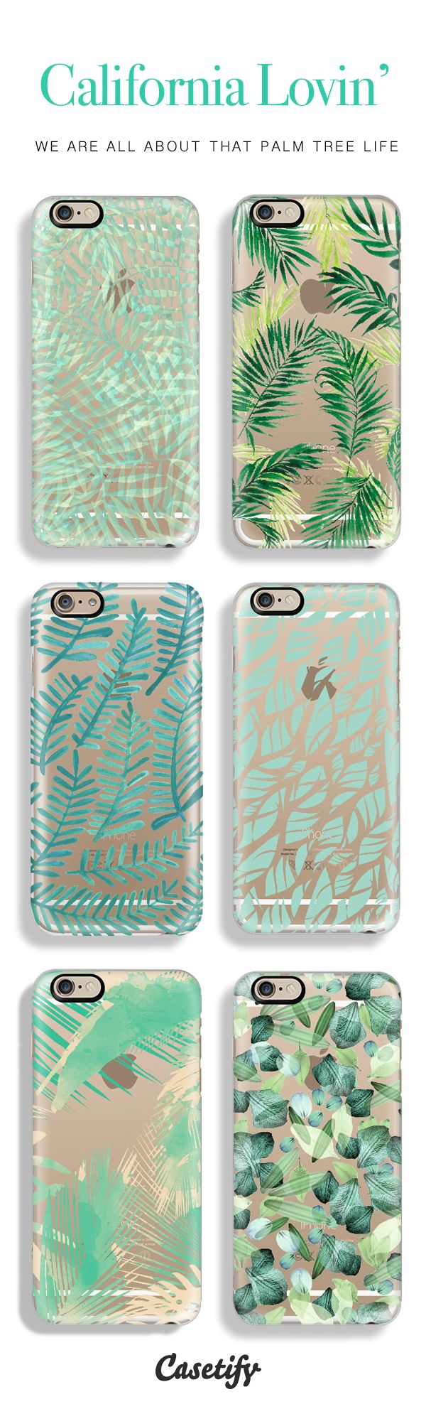 Top 6 palm tree iPhone 6 protective phone cases | Click through to see more iPhone 6 phone case ideas >>> http://www.casetify.com/artworks/hmk234rTVu #gardenart | @casetify