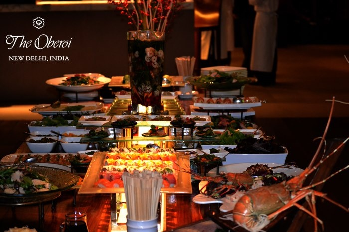 The #Sunday #brunch #buffet at threesixty°. Come and indulge!