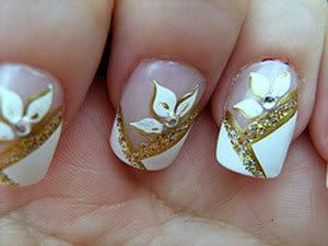 Unhas decoradas para o Ano Novo: Nails Art, Nails Designjpg, Sweet Nails Design, Nailart, Nails Design Jpg, Beautiful, Manicure, Nails Ideas, Flowers Decor