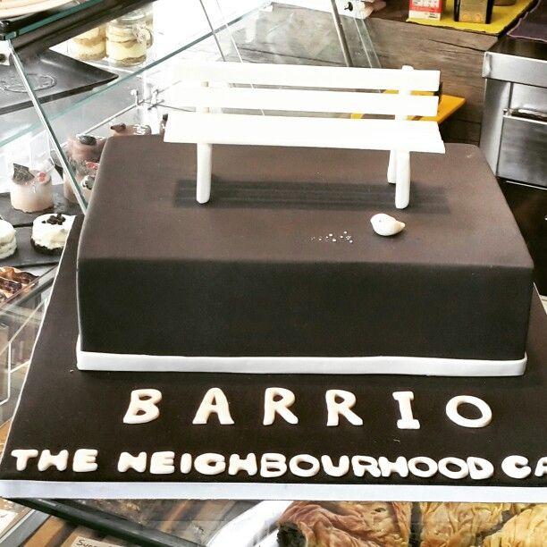 3D cake barrio