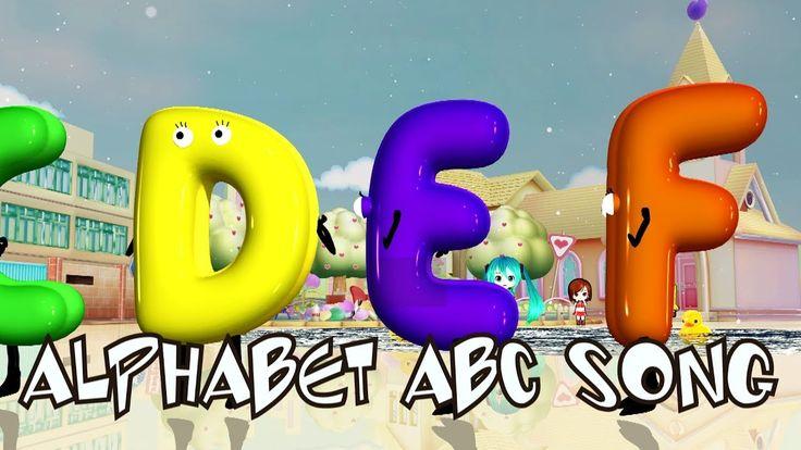 Alphabets ABC Song | Kids Songs | Car Songs | Cartoon Songs | Nursery Rh...