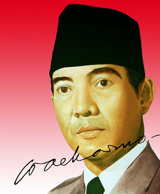 Soekarno - Presiden RI Pertama