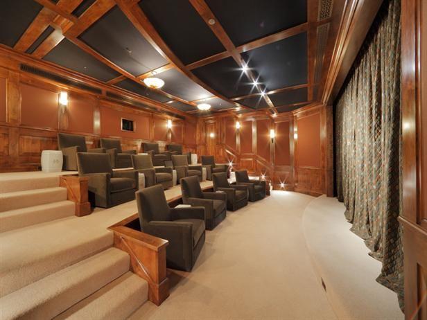 Home theater | Robin Williams' Home Theater | HGTVFrontDoor.com