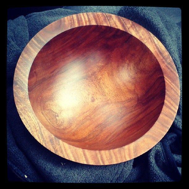 #woodturning #woodbowl #wood #tasmanianblackwood #ashleyviljoen