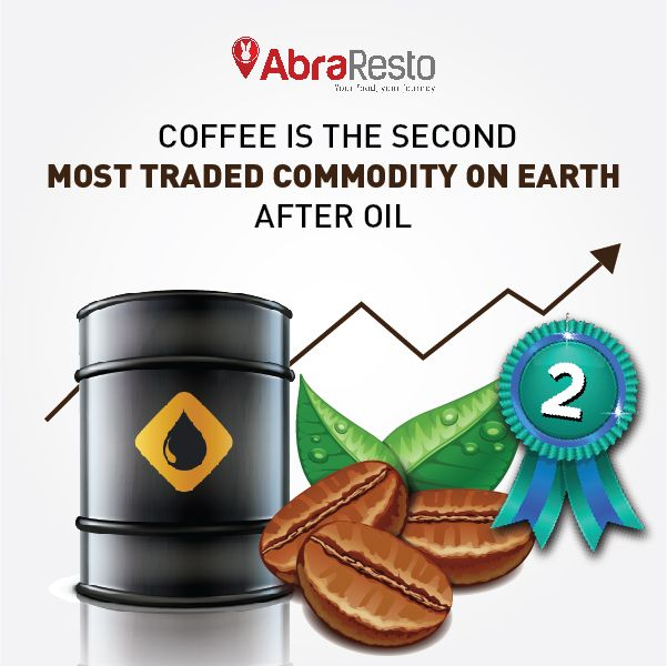 Coffee Is The Second Most Traded Commodity On Earth After Oil