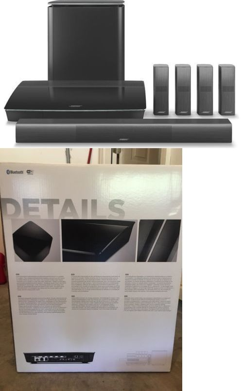 Home Theater Systems: Bose Lifestyle 650 Ls 650 Home Theater System Black Brand New -> BUY IT NOW ONLY: $3199 on eBay!