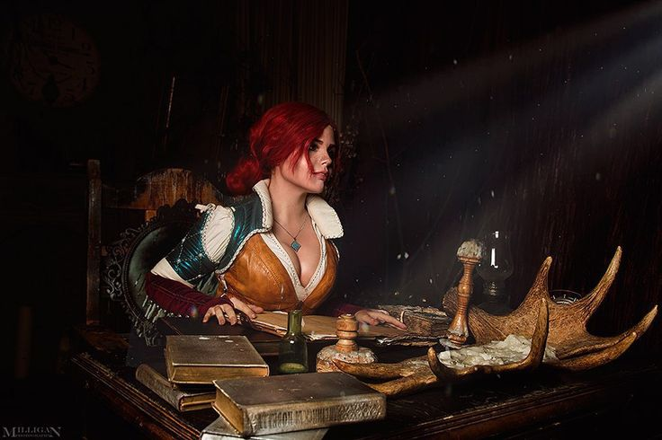 The Witcher 3: Wild Hunt - Fenyachan and Vergil(FD Team) Triss Merigold Cosplay Photo - Cure WorldCosplay