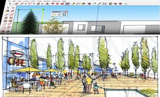 SketchUp Architectural Entourage