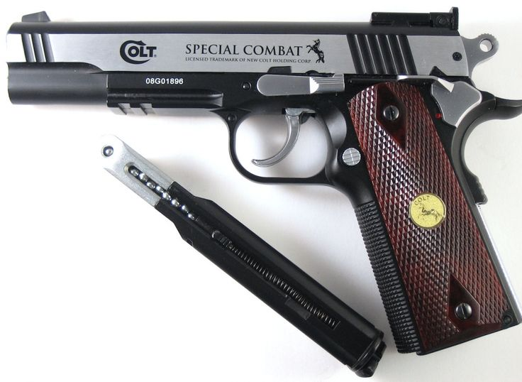 Tubarão Center - PISTOLA PRESSÃO CO2 COLT SPECIAL COMBAT - 4.5MM