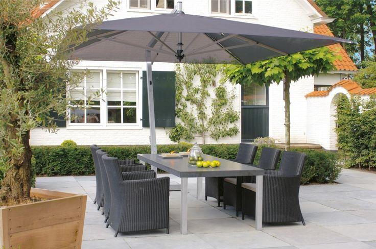 FLORENCE  stoły ogrodowe Florence, firmy Borek, to wysokiej jakości meble, w których nogi wykonane są z wysokogatunkowej stali nierdzewnej typu 304, natomiast blaty z Caesarstone®.