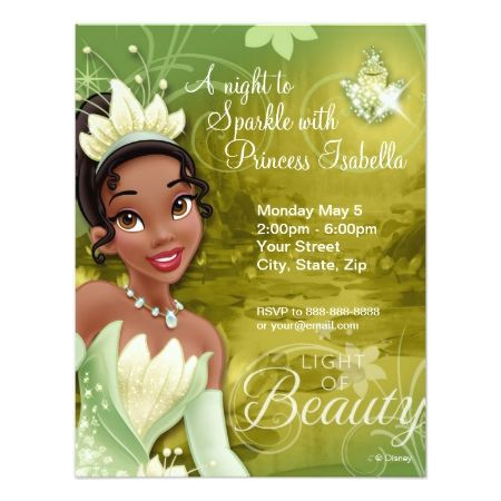 Tiana Birthday Invitation - click/tap to personalize and buy