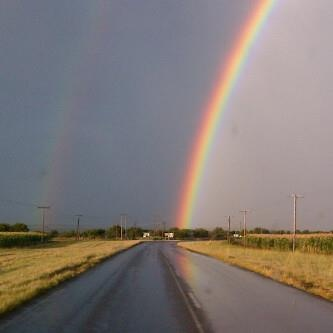 [Hartswater, Noord-Kaap, Suid-Afrika, 2 april 2012] - by Jolene MareeRainbows Connection, Rainbows Colors, Colors Sky, Repin By Pinterest, Jolene Mare, Southern Africa, April 2012, Pin Whoohoo, Suid Afrikaanse South African