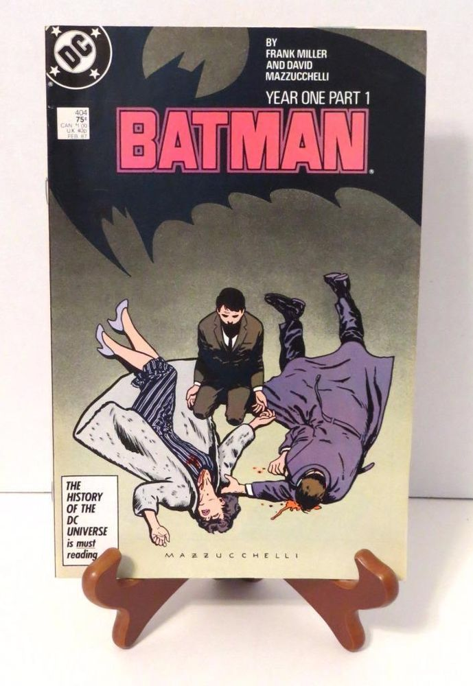 31 best top undervalued or overlooked comic books images on dc comics batman year one part 1 issue 404 february 1987 vfnm condition fandeluxe Gallery