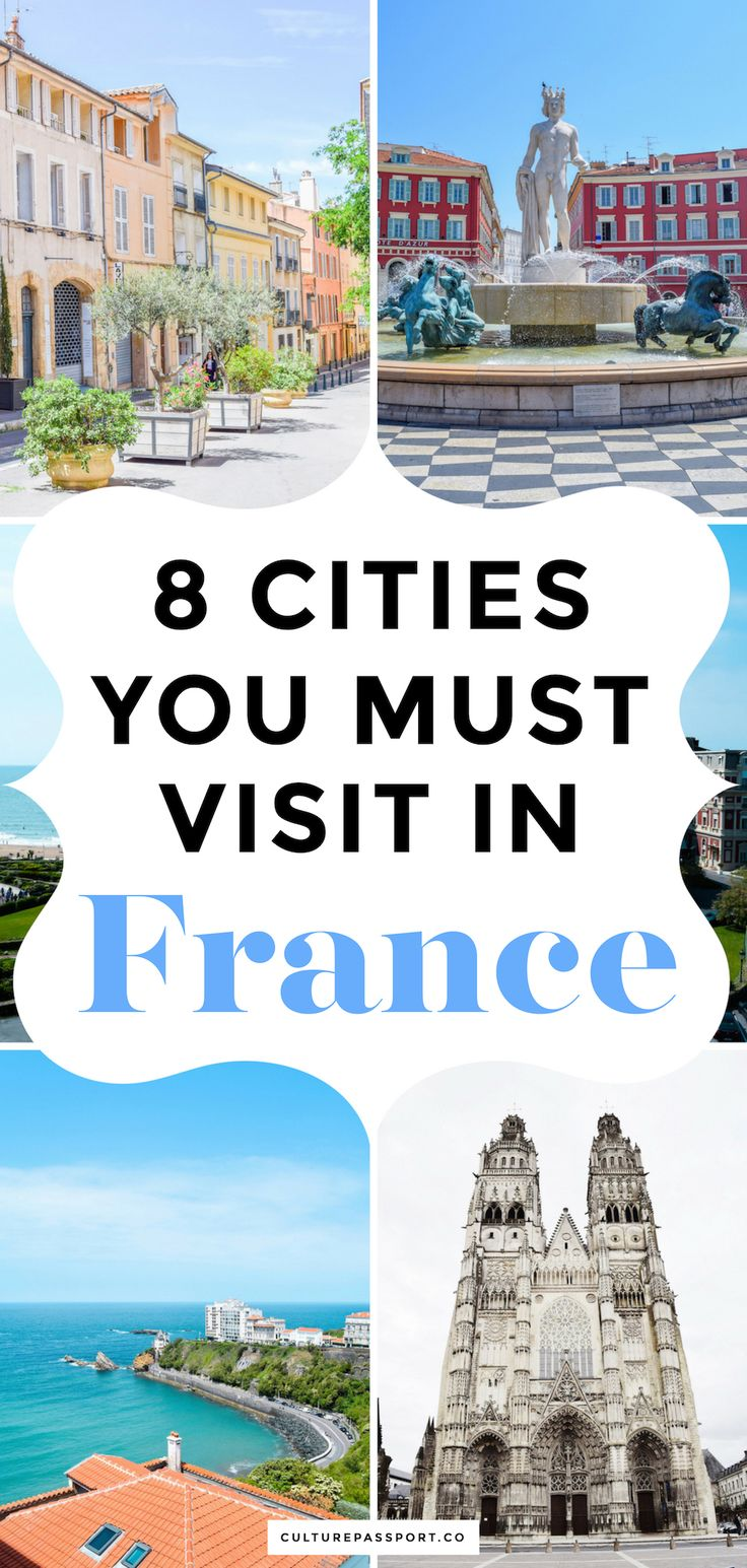 The Cities You NEED to Visit in France | #travelfrance #francetravel #voyager #femaletraveler