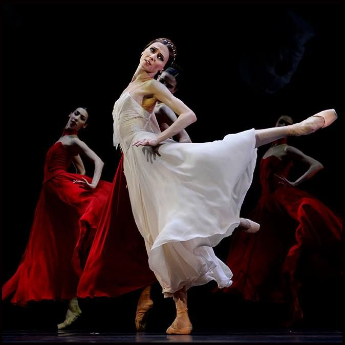 "<<Svetlana Zakharova in ""Francesca da Rimini"", choreography by Yuri Possokhov from ""Amore"" # Grimaldi Forum, Monaco (July 6, 2016) # Photo © Alain Hanel>>"