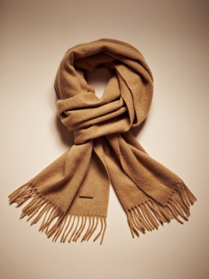 Solid Cashmere Scarf by Burberry on Gilt.com