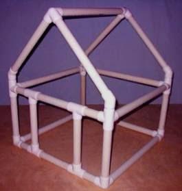 PVC PASSO A PASSO: Sugestões: Casinha, mesa e cadeira