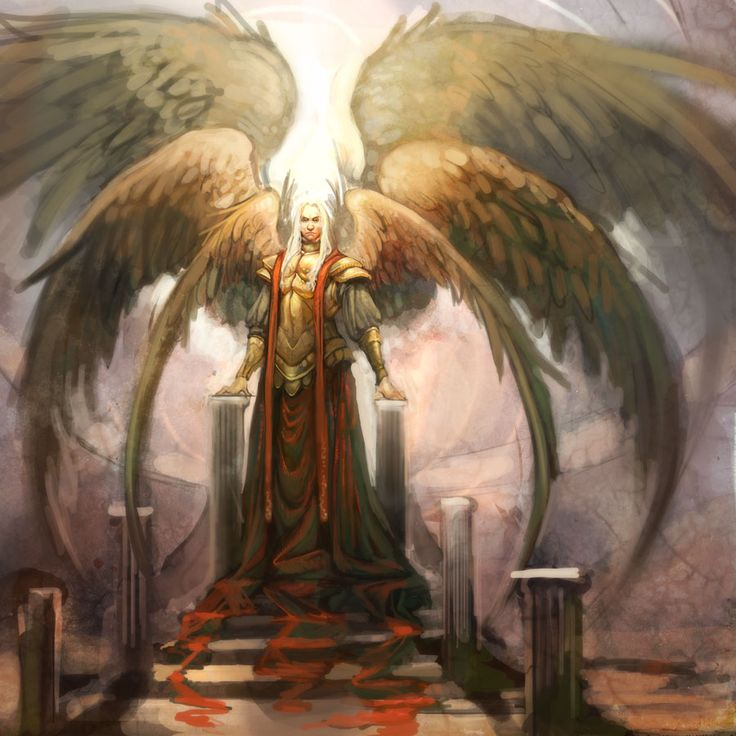 A Seraphim Angel who became jealous of God and wanted all the powers & rulings too be his and so then became Lucifer, the Darkest most selfish, vengeful & hateful Fallen Angel.  Not today Satan, Not today!