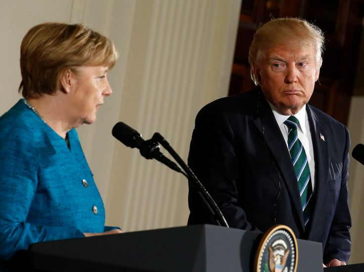 Trump's putting a massive deal at risk when he messes with Germany