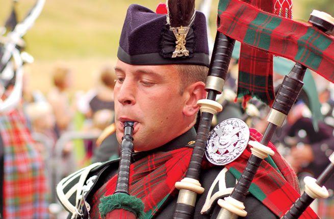 Scotland: August's Edinburgh International Festival has music, including bagpipes, and more...