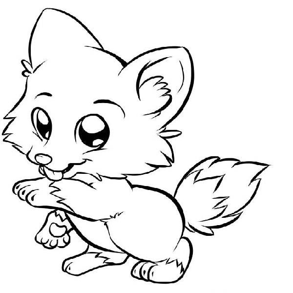 free wolf puppy coloring pages - photo#19