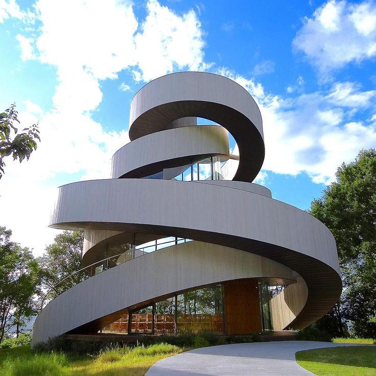 ribbon chapel, Hotel Bella Vista Sakaigahama, Hiroshi Nakamura & NAP Architects, photographs by Ken Lee