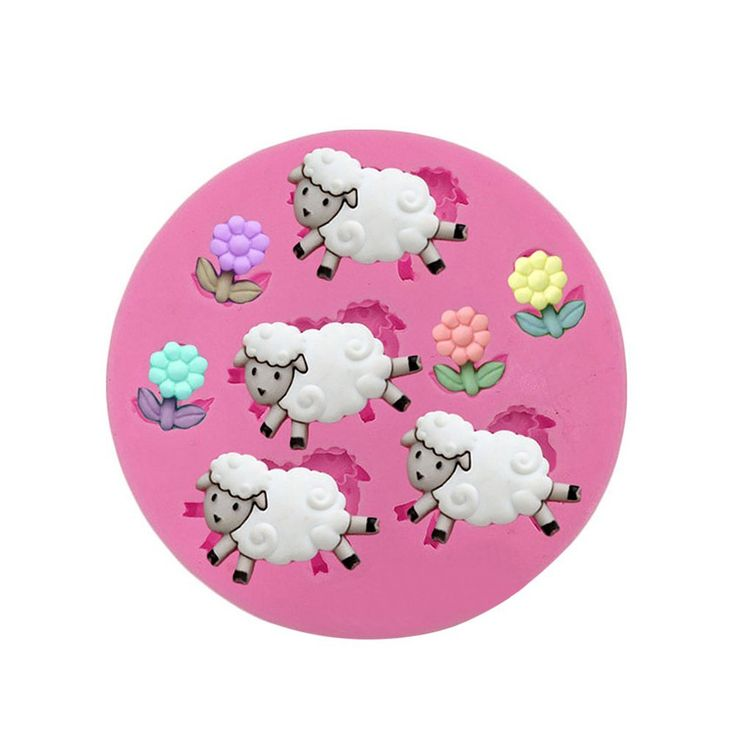 Baidecor Lovely Sheep Silicone Chocolate Molds Candy Mold Set Of 3 *** See this great image  : Candy Making Supplies